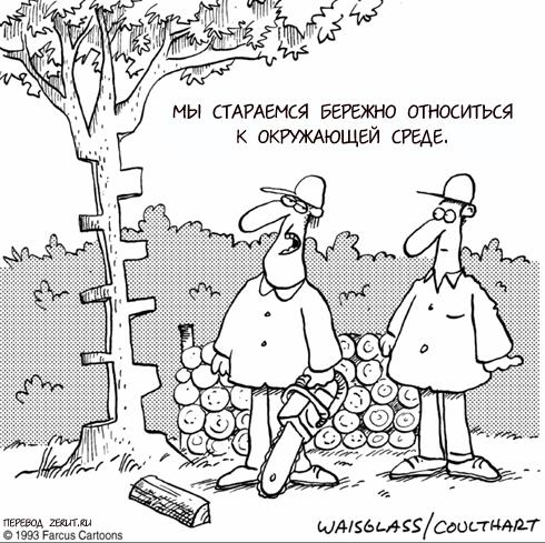 История про дрова